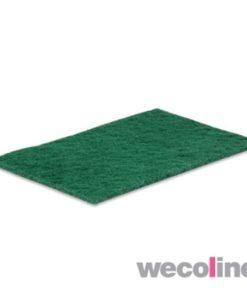 Schuurlapje, groen vlies, 15x23cm, groen.