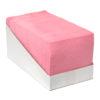 Sopdoek roze 140gr/m2,38x40cm, 65st. Dispenser karton.