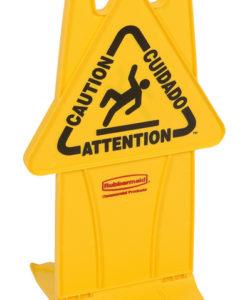 Stabiel waarschuwingsbord, Rubbermaid.