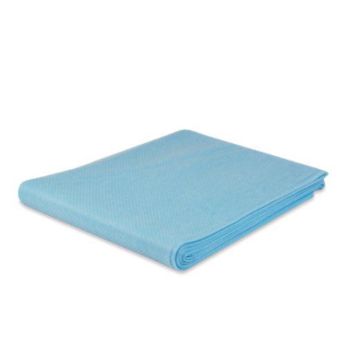 Stofwisdoek, Polypropyleen, 80x25cm, blauw.