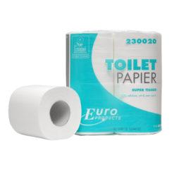 Toiletpapier Eco super, 2 laags 200vel, 12x4rol p/colli.