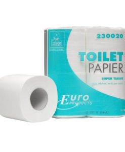 Toiletpapier Eco super, 2 laags 200vel, 12x4rol p/colli.