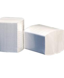 Toiletpapier bulkpack, wit, 2-laags, 36pakx250vel.