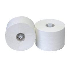 Toiletrol met dop, 3-laags, 65mtr, 36 rollen per colli