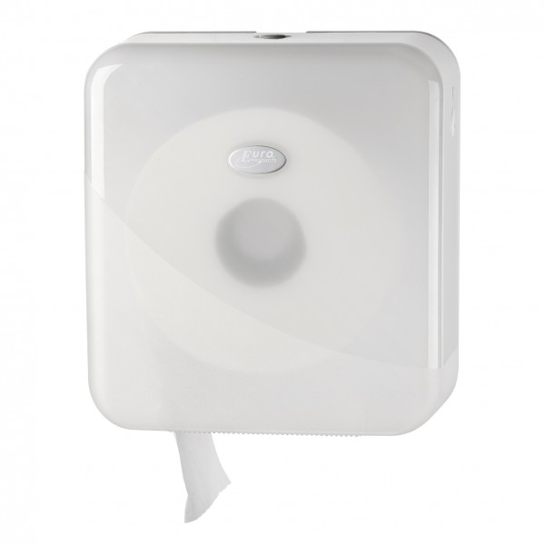 Toiletrolhouder voor de jumbo mini toiletrol, wit.