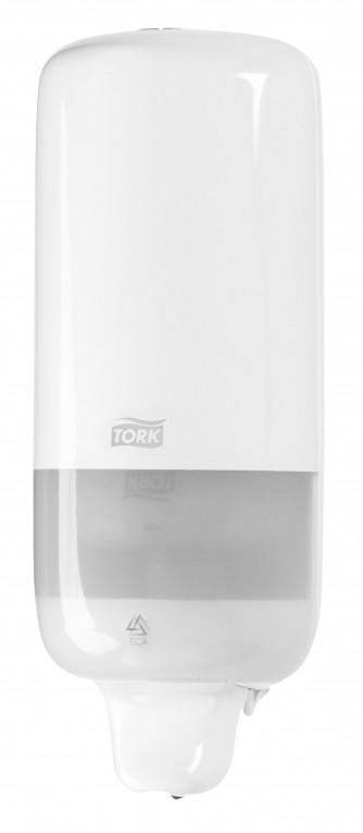 Tork Elevation vloeibare handzeep dispenser.