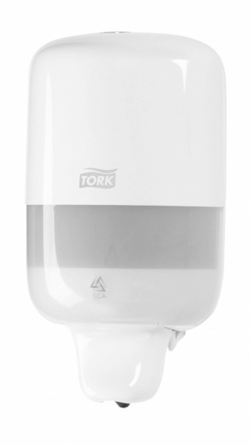 Tork Elevation vloeibare mini handzeep dispenser.