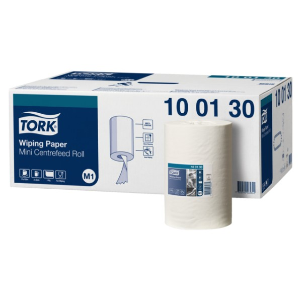 Tork advance mini Wiper centerfold poetspapier, 120 mtr. 1-laags.