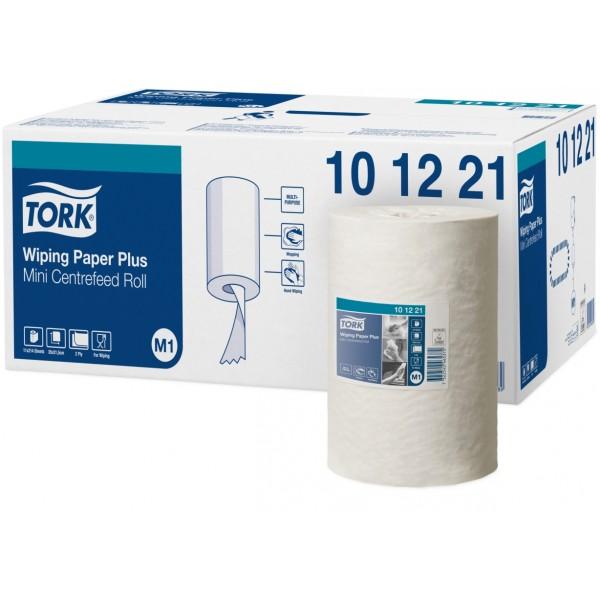 Tork advance mini Wiper centerfold poetspapier, 75 mtr. 2-laags.