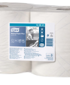 Tork advanced Wiper 420 Combi Roll poetsdoek, wit (W1/2/3), 2-laags, 2 rol/colli.