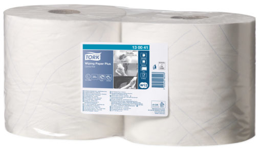Tork advanced Wiper 420 Combi Roll poetsdoek, wit (W1/2/3), 2-laags, 2 rol/colli.