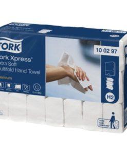 Tork handdoekpapier, 2-laags, 21pakx100st.