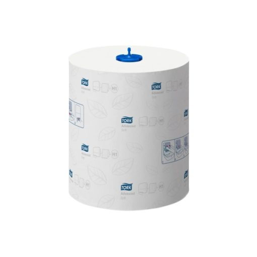 Tork handdoekrol Soft (H1 Matic System), 2-laags Wit,  6 rol/colli.