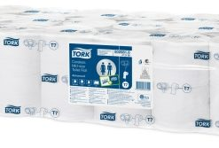 Tork toiletpapier Coreless, 900 vel, wit, zonder huls, 2-laags, 36rol/collie