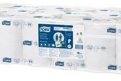 Tork toiletpapier Coreless, 900 vel, wit, zonder huls, 2-laags, 36rol/collie