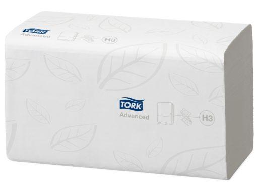 Tork zz-gevouwen handdoeken (H3 systeem), 2-laags, 15pakx200st.