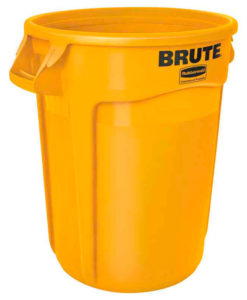 VB 002632 geel Brute container 121 ltr