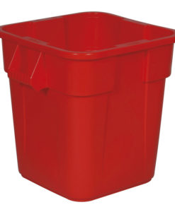 VB 003526 rood Brute container 106ltr