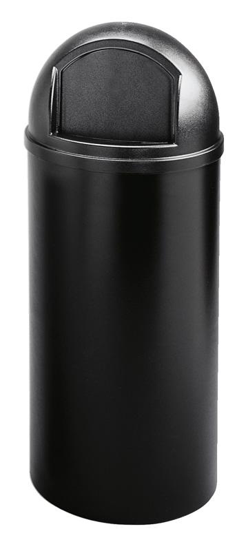 VB 008160 zwart Marshal rond 57 ltr