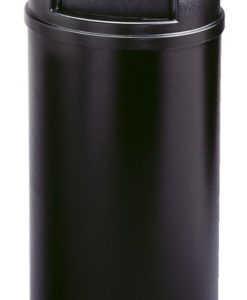 VB 008170 zwart Marshall container 95ltr
