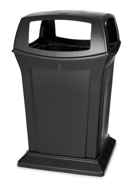 VB 009173 zwart Ranger container 170 ltr