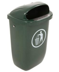 VB 036738 donkergroen DIN PK afvalbak