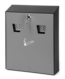 VB 041015 Wandasbak grijs/zwart