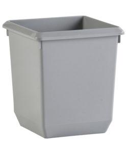 VB 045457 grijs vierkante papierbak 21 l