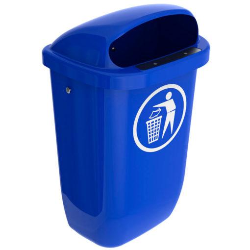 VB 049806 blauw DIN PKK afvalbak