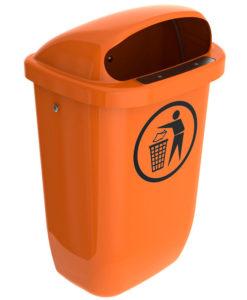 VB 061556 oranje DIN PKK afvalbak