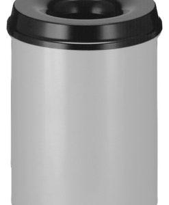 VB 101500 alu/zw Vlamdover 15 l. metaal