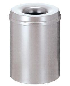 VB 101500 zilver Vlamdover 15 ltr metaal