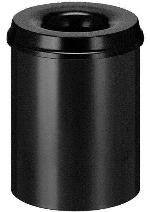 VB 101500 zwart Vlamdover 15 ltr. metaal