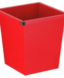 VB 102700 rood Vierkanttapse papierbak