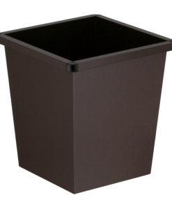 VB 102700 zwart Vierkanttapse papierbak