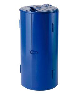 VB 202040 blauw Afvalzakhouder 120 ltr