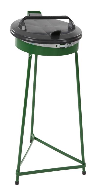 VB 330100 groen Afvalzakhouder 70 ltr