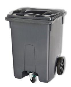 VB 400400 grijs Container 370ltr 3 wiel
