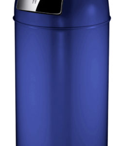 VB 404550 blauw Pushcan 40ltr.