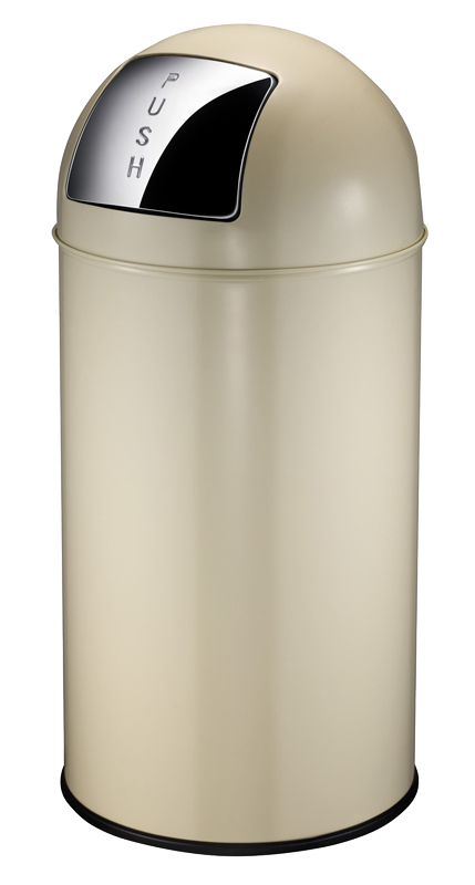 VB 404550 creme pushcan 40 ltr
