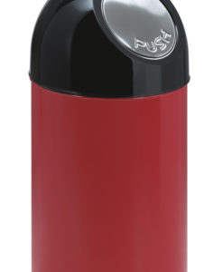 VB 480001 rood pushbin 40 ltr