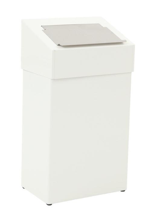 VB 650019 wit afvalbak 18l hygtop