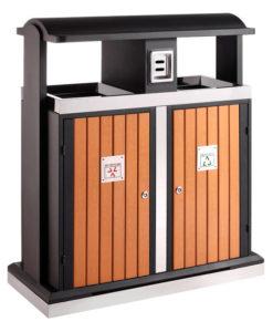 VB 650439 houtlook Buitenafvalbak recycl