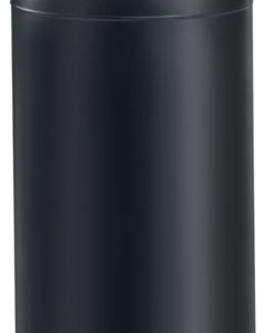 VB 667819 zwart Afvalbak open top 55ltr