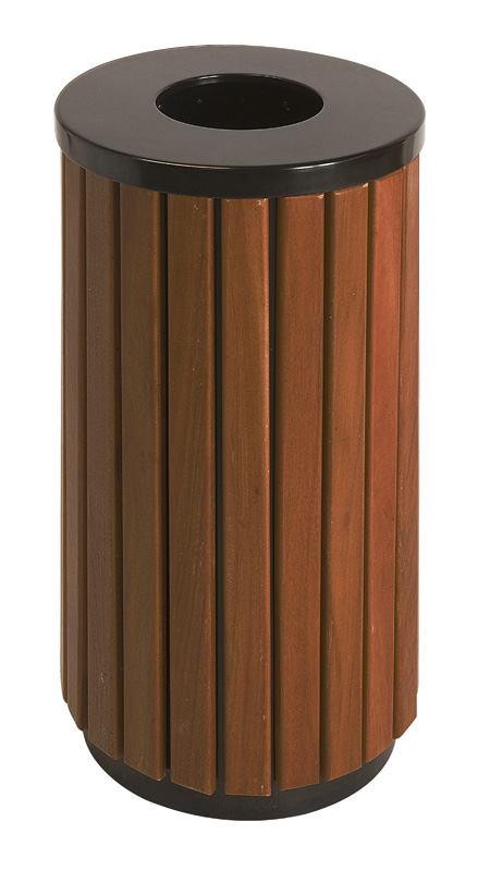 VB 789457 zwart/houtlook Buitenbak
