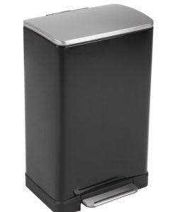 VB 926840 zwart pedaalemmer E-Cube 40L
