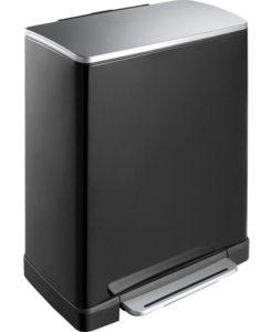 VB 926850 zwart pedaalemmer E-Cube 50L