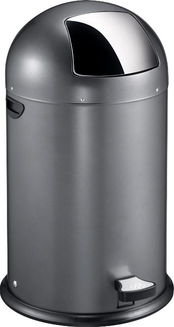 VB 966800 grijs kickcan 40 ltr