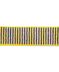 Vlakmop Rubbermaid schrobmop 40cm geel.