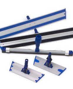 Vlakmop frame met fixatieclip, 23cm.